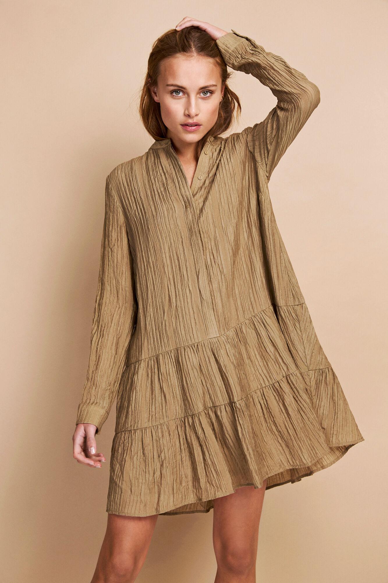 ENMAGIC LS SHORT DRESS 6614
