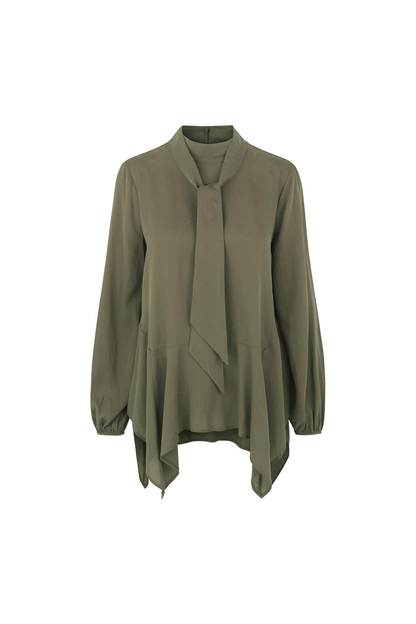 Dianna blouse SM1045, IVY GREEN