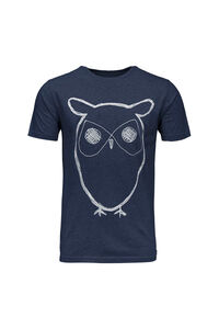 Single jersey with owl 10184, TOTAL ECLIPSE