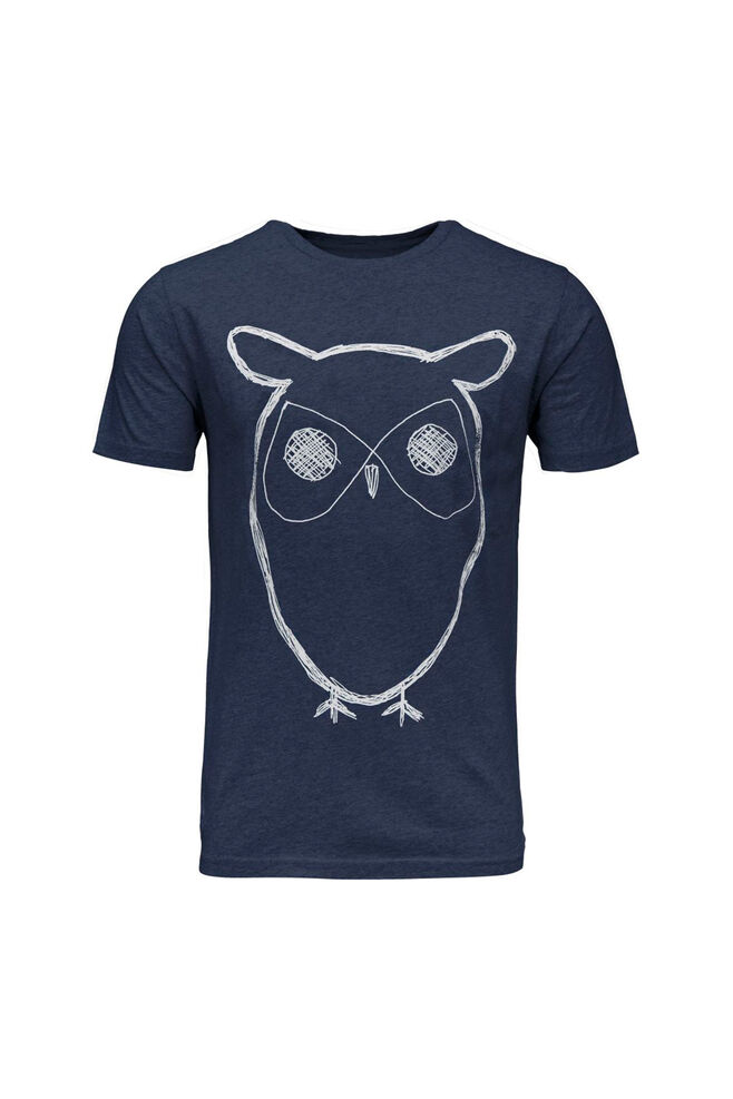 Single jersey with owl 10184