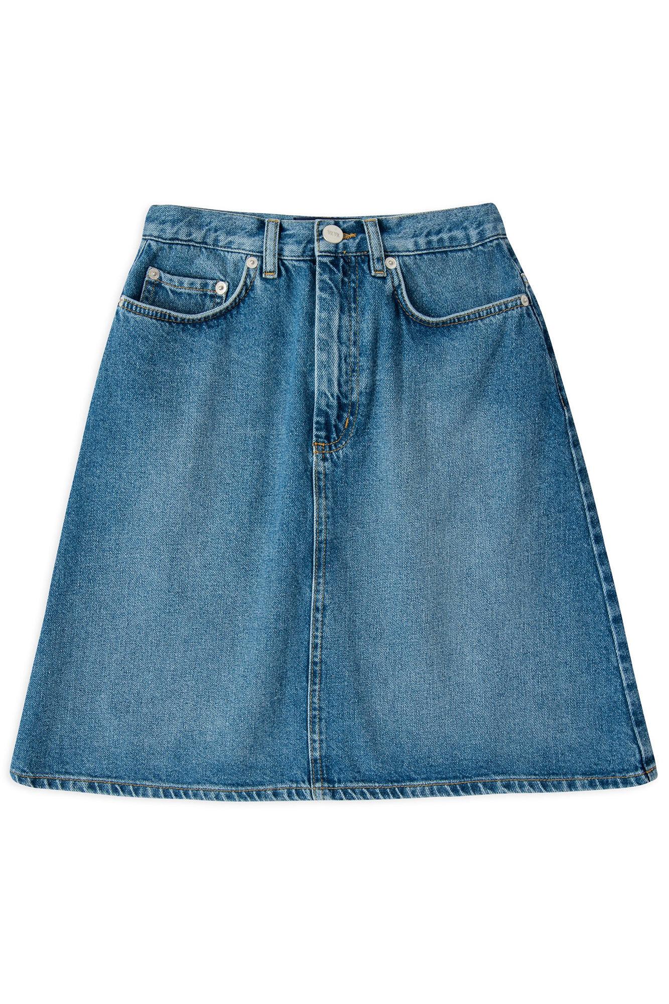 Ynes skirt 11911905-7006, CLASSIC BLUE VINTAGE