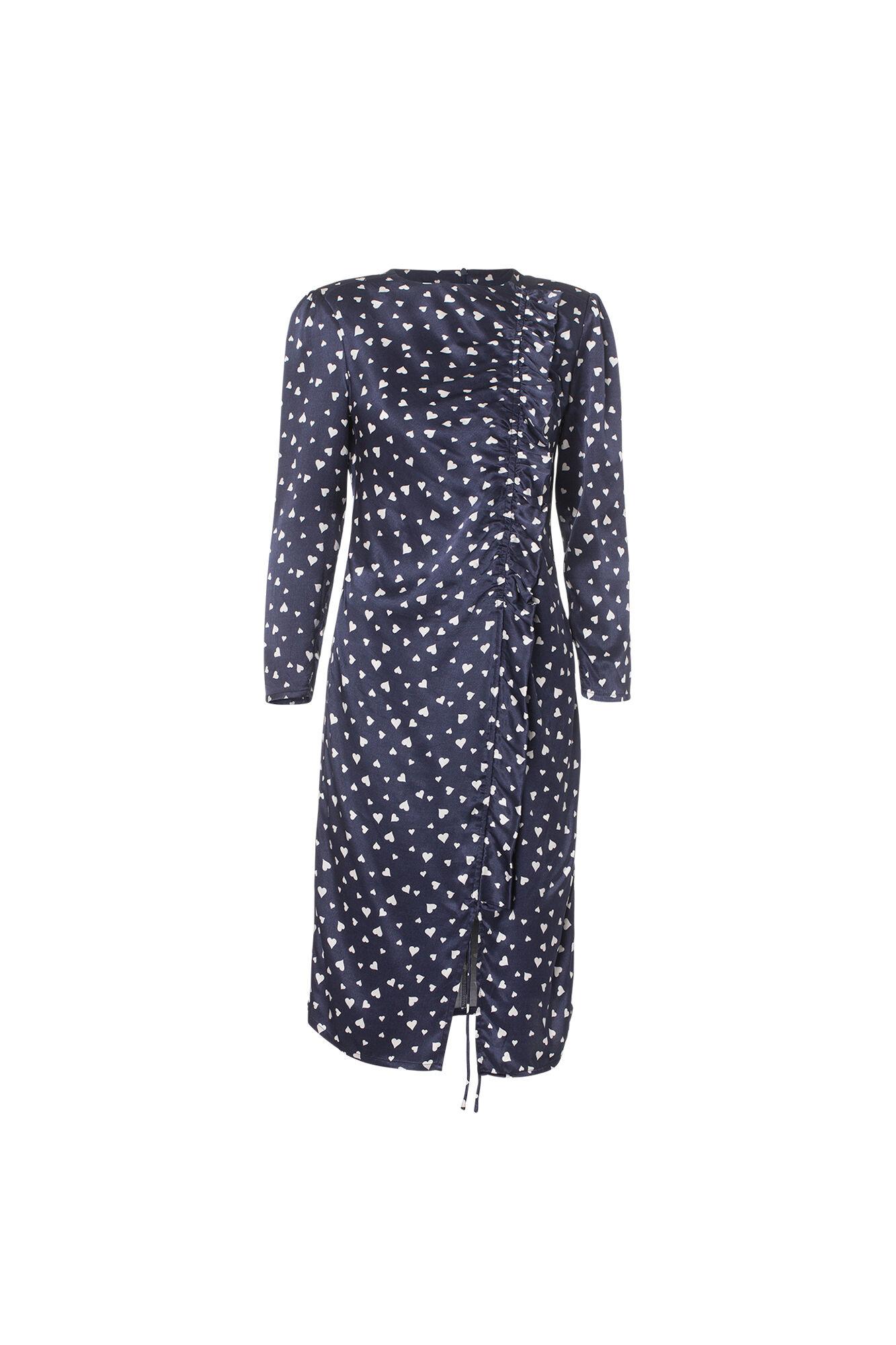 Molly Dress 03880218, NAVY