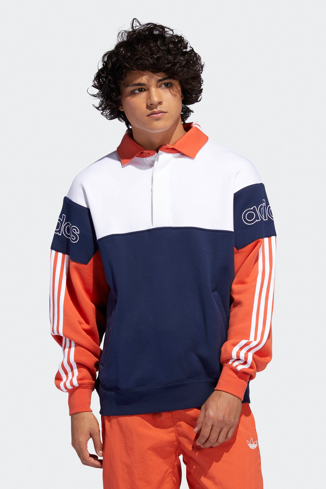 Rugby Sweat DV3146, COLLEGIATE NAVY