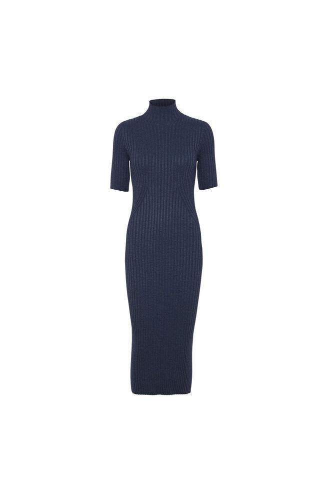 Karlina s/s knit 11861432, BLUE MELANGE