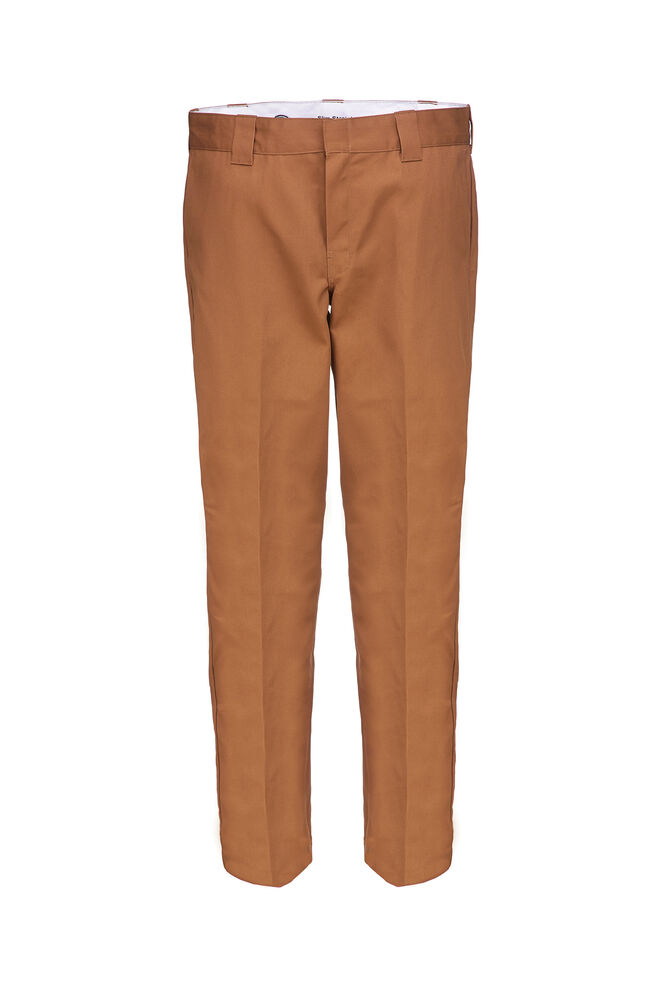 s/stght work pant WP873, BROWN DUCK