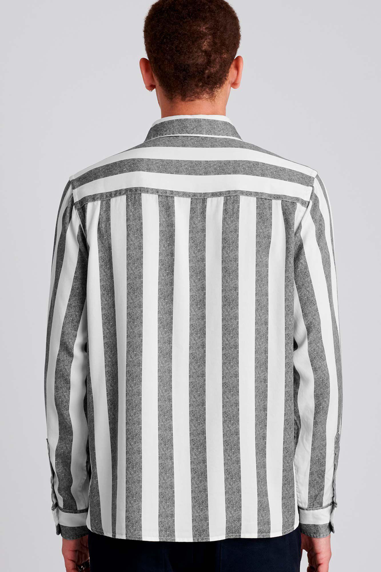 Perry jumbo stripe, BLACK