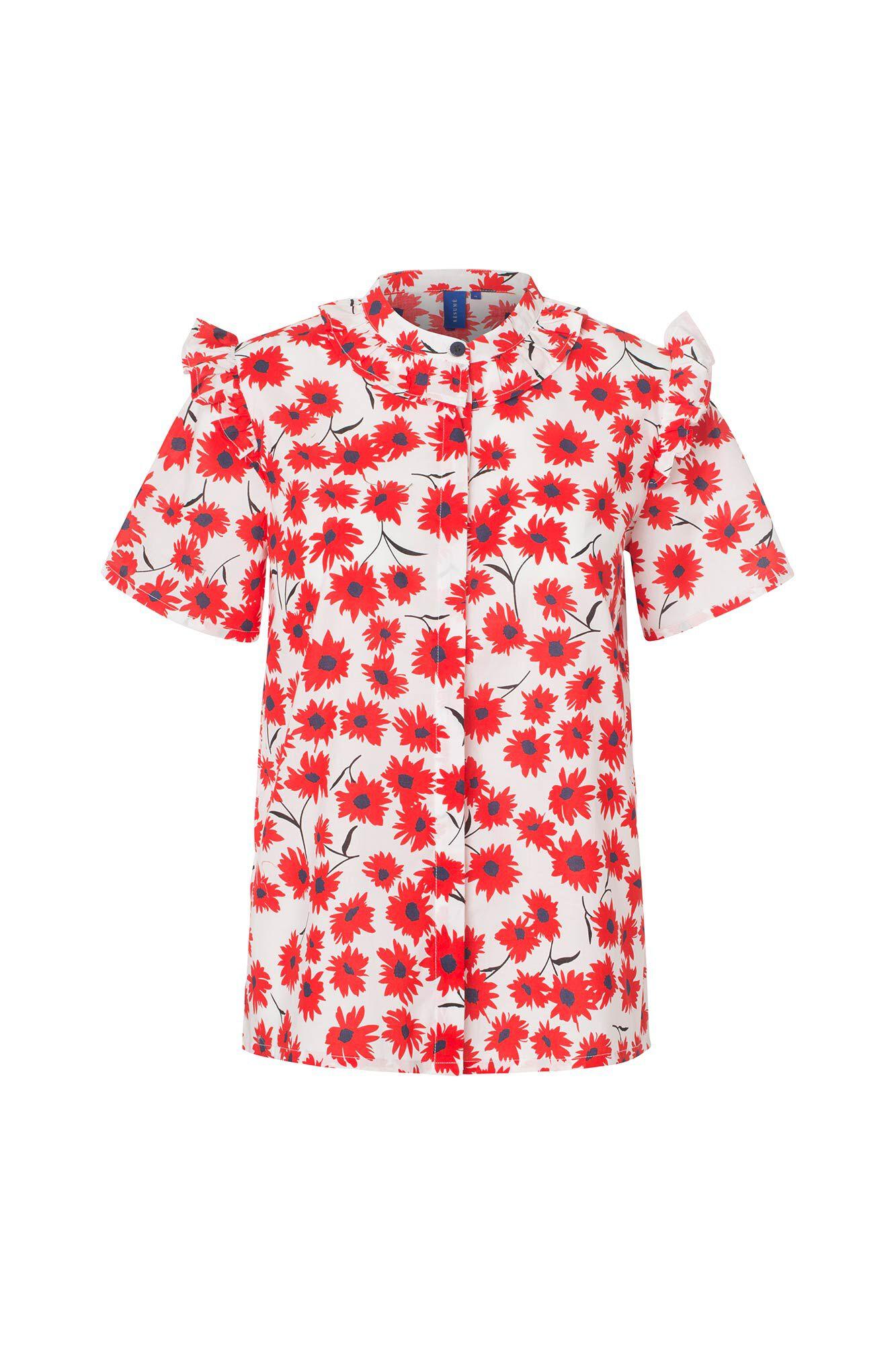 Naia shirt 05790350, WHITE