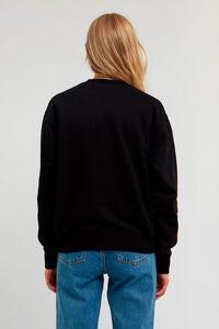 Jess sweatshirt 10002401-2424, BLACK