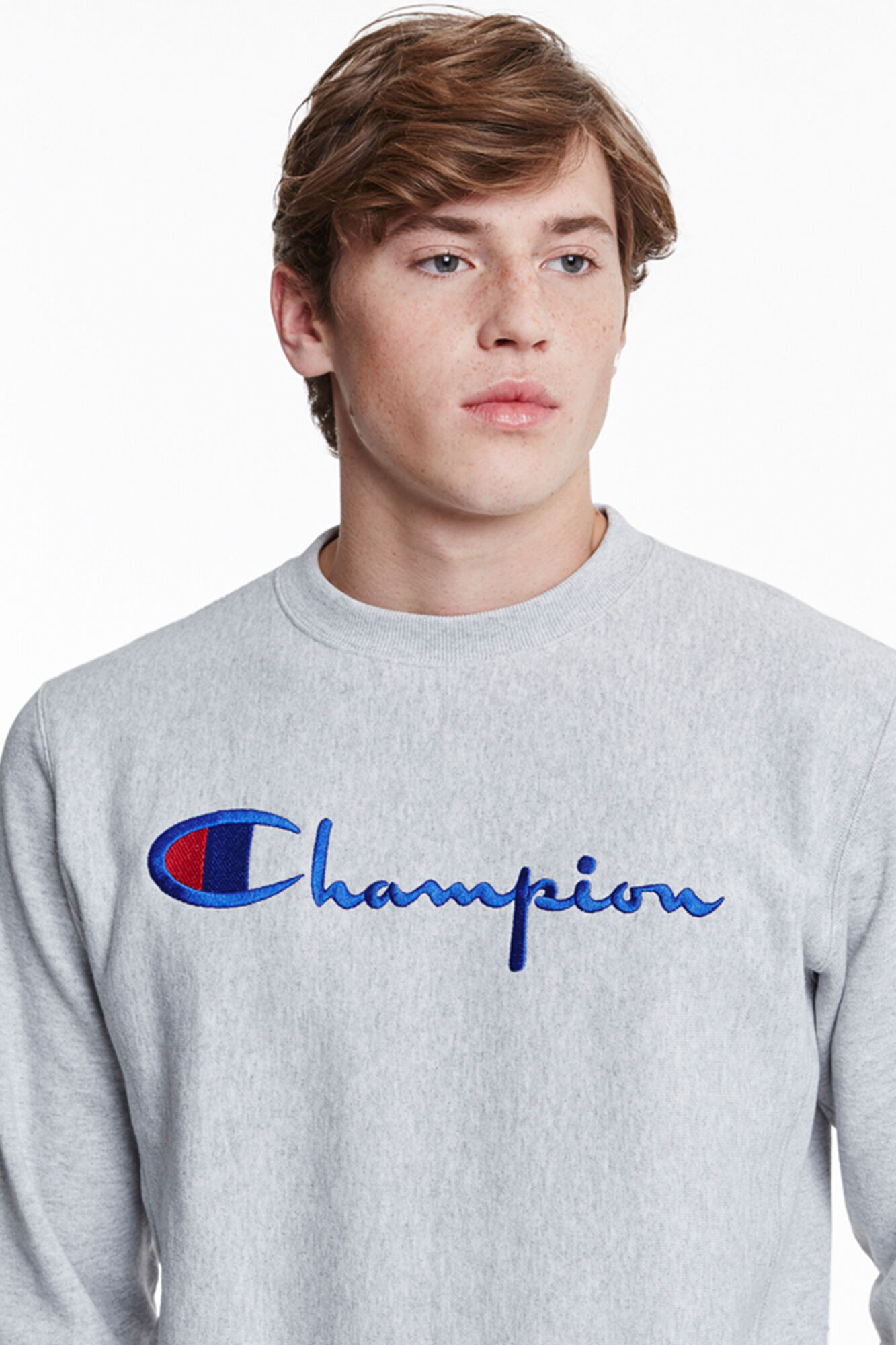 Crewneck sweatshirt 210975, LOXGM GREY