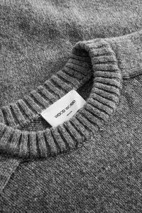 Kevin sweater 11935510-4033, GREY MELANGE