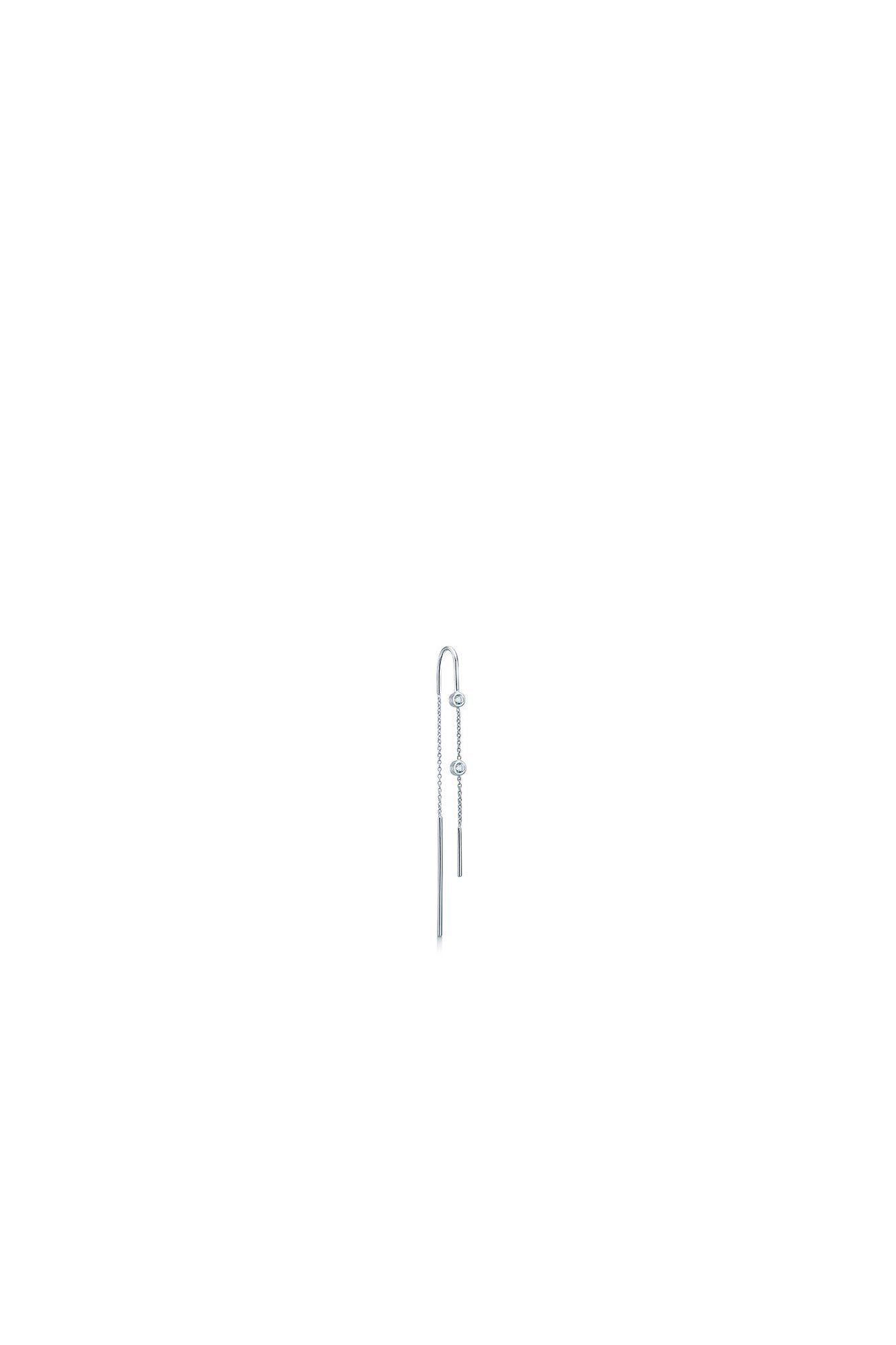 Vega earring IDE001RH, RHODIUM