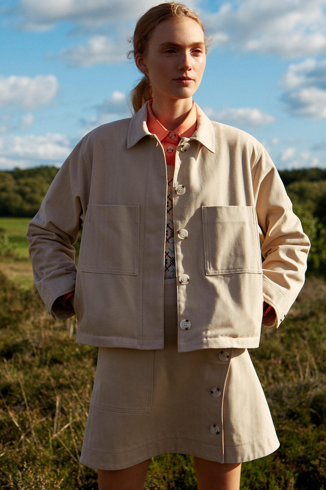 Osa jacket 11911204-5188, LIGHT KHAKI