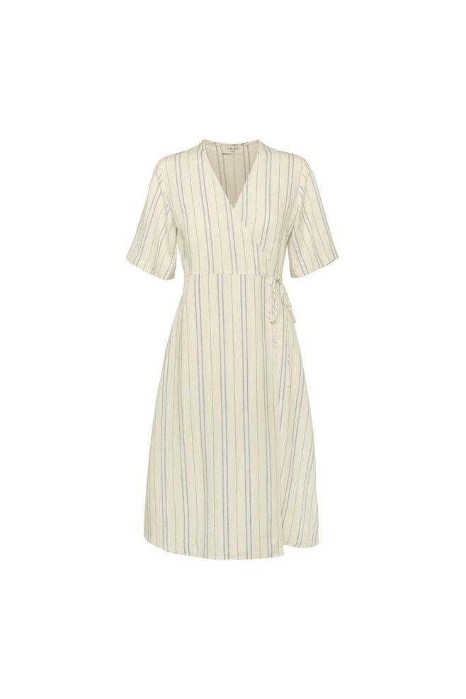 Silverly dress 11861251, WHITE/BLUE STRIPE