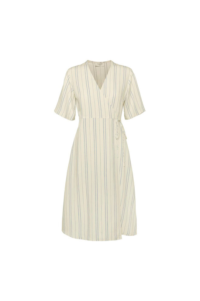 Silverly dress 11861251, WHITE/BLUE STRIPE