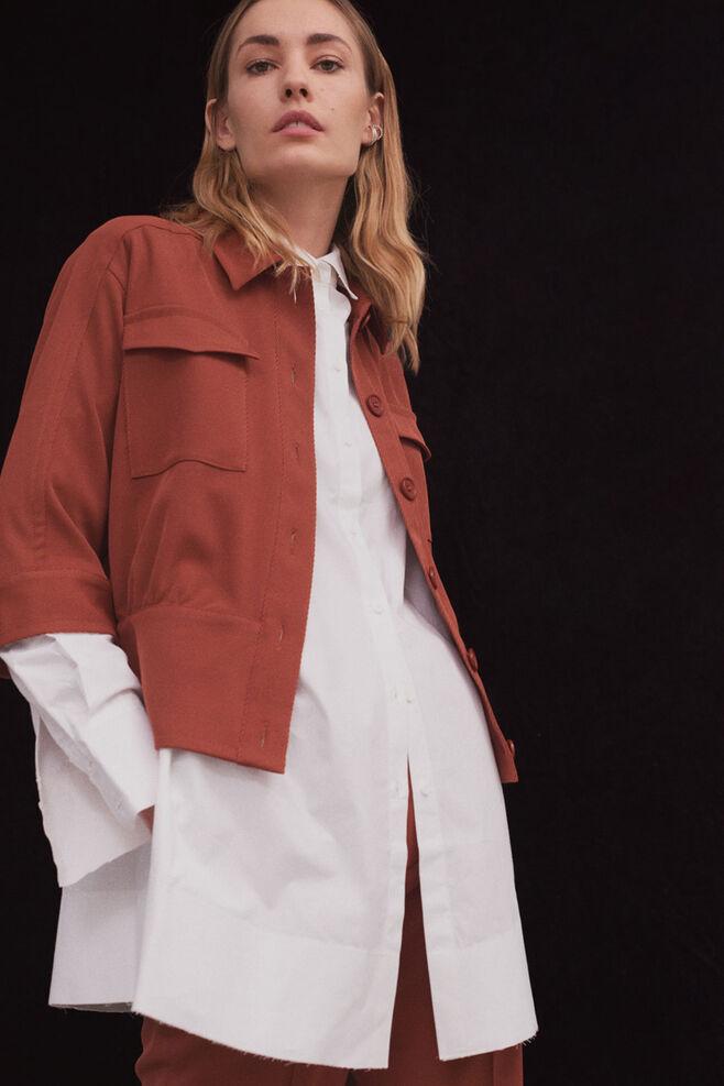 Sara blouse 85091, CARAMEL