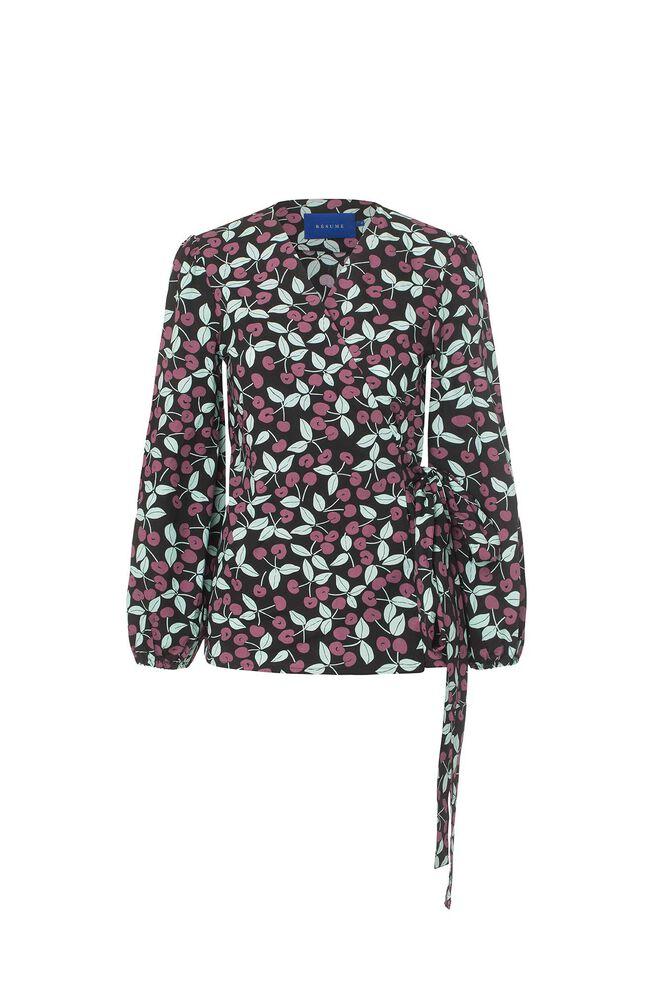 Otellia blouse 06320377, BLACK