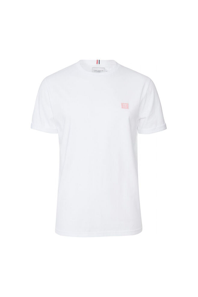 Piece t-shirt LDM101034, WHITE/ROSE