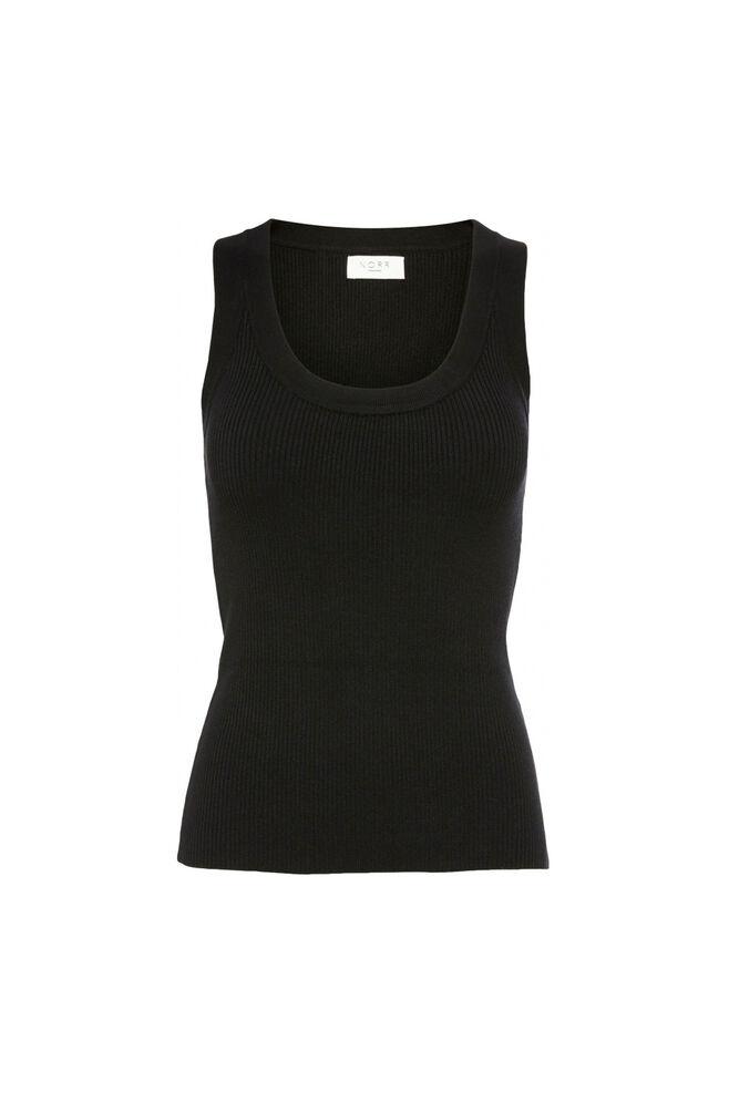 Kylie knit tank top 11861247, BLACK
