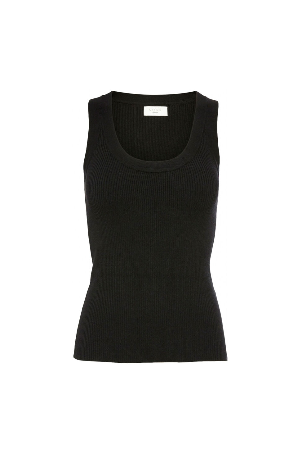 Kylie knit tank top 11861247, BLACK