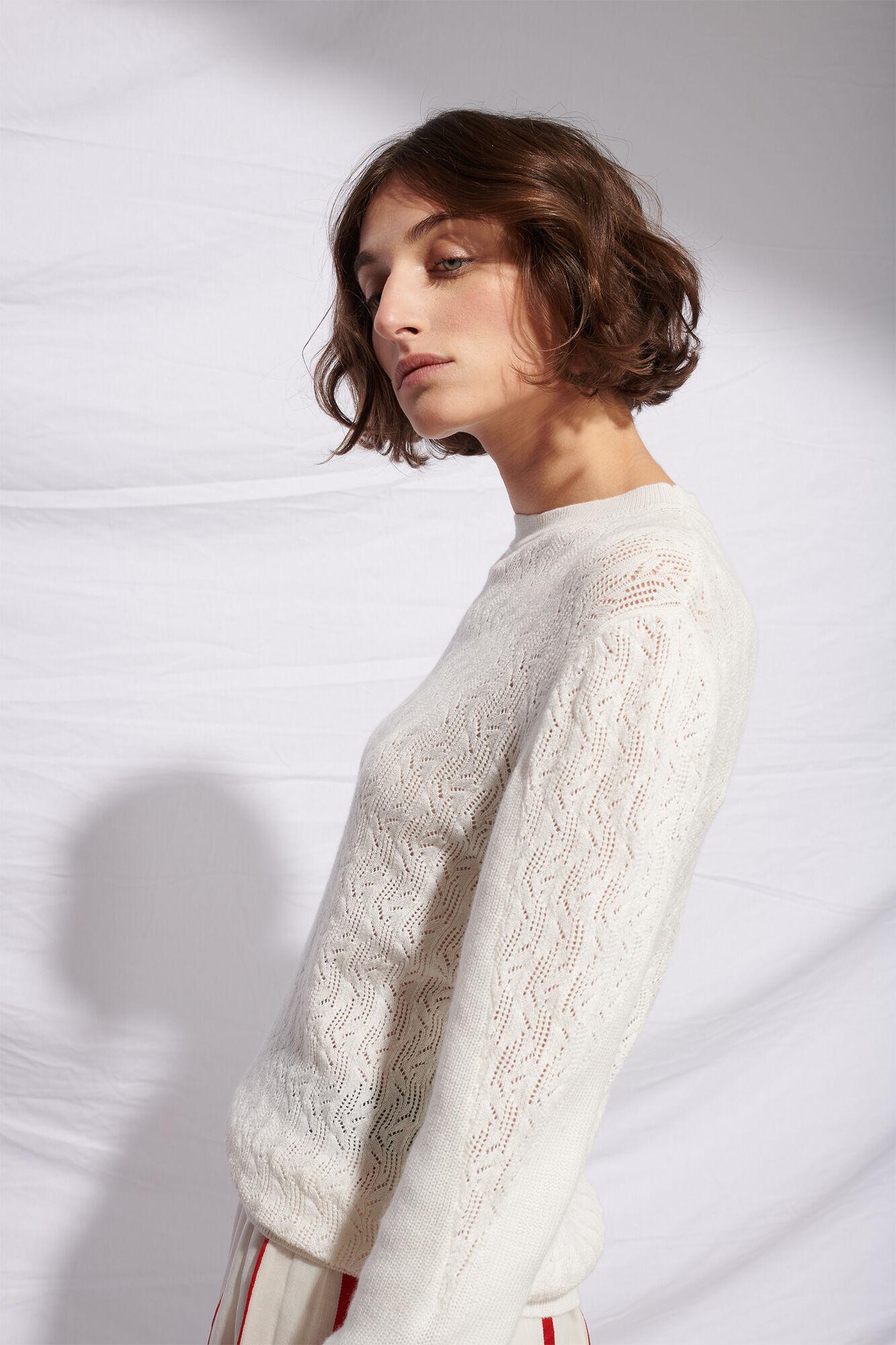 Sandie cotton cashmere 01112WS, OFFWHITE