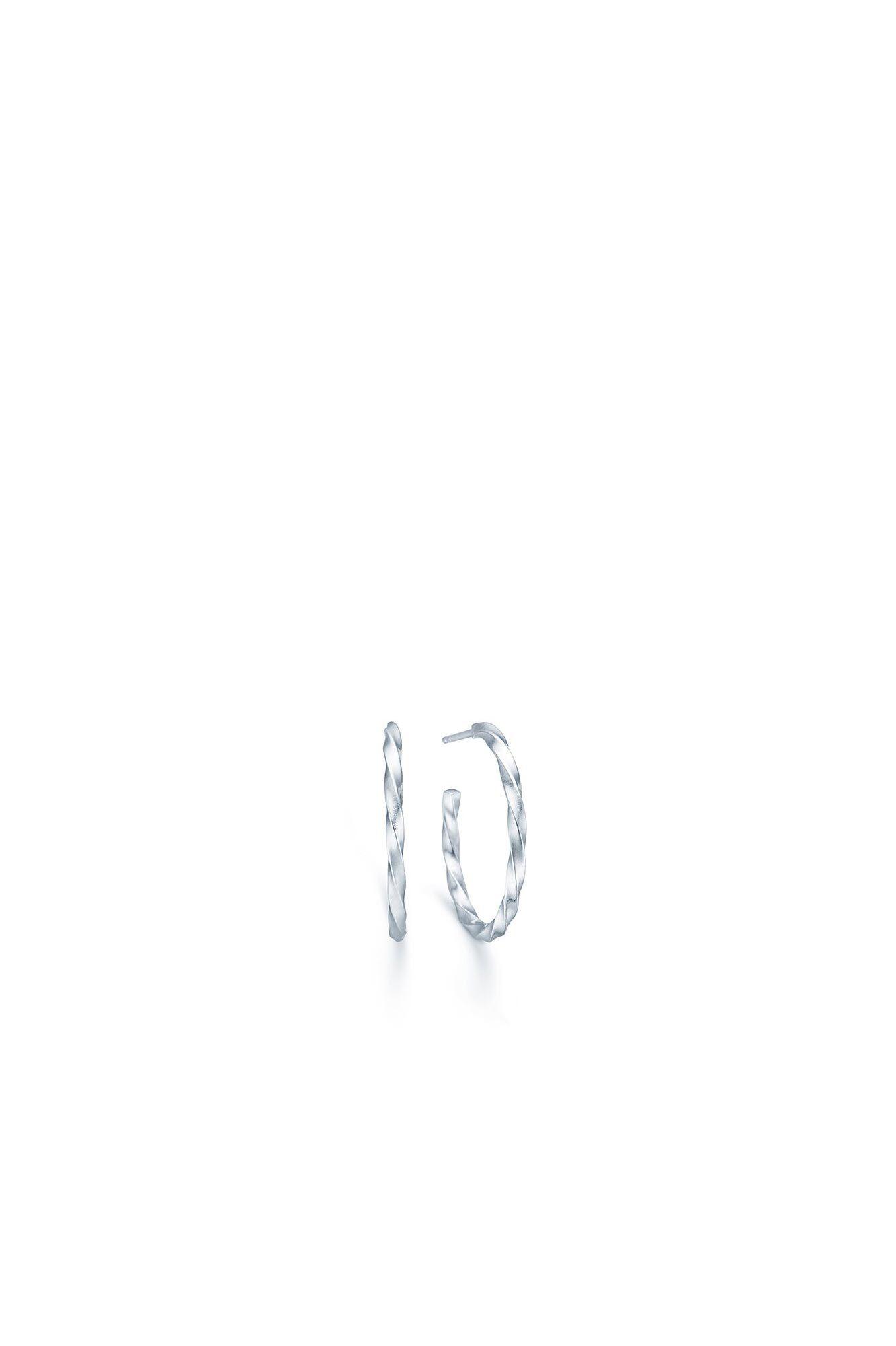 Unicorn hoops IDE001RH, RHODIUM