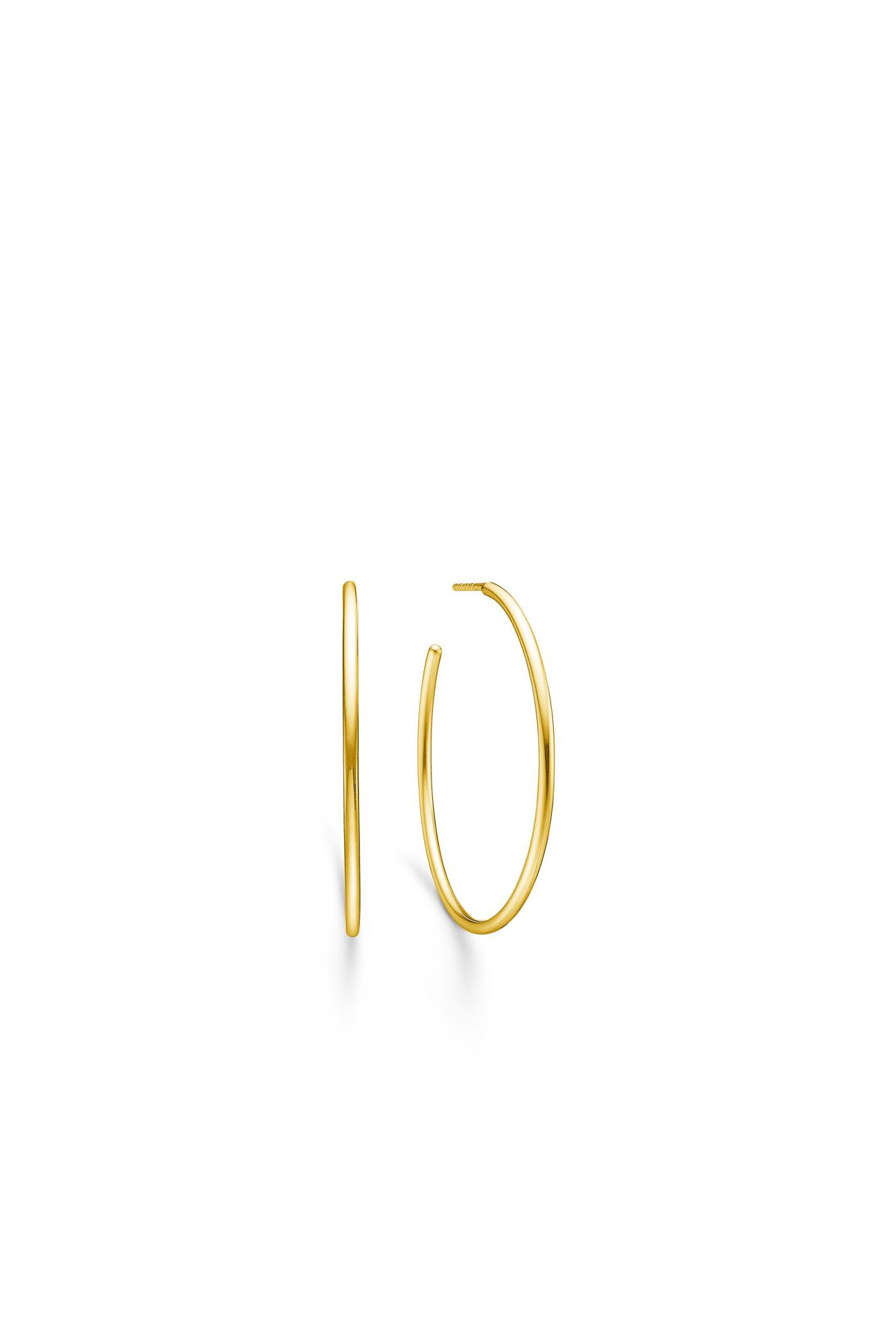 Dash large hoope IDH024GD, GOLD