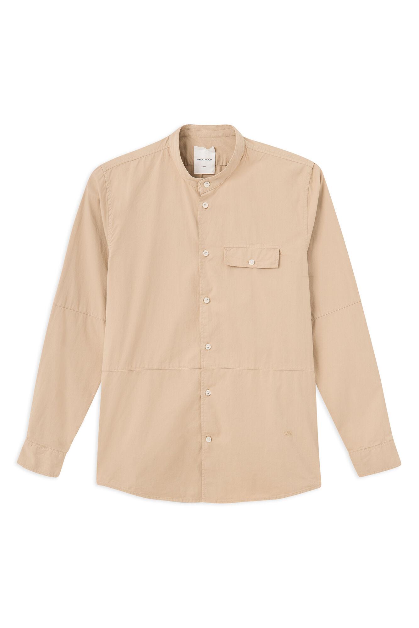 Alvaro shirt 11915311-1152, LIGHT KHAKI