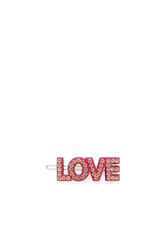 Love clip, FUCHSIA