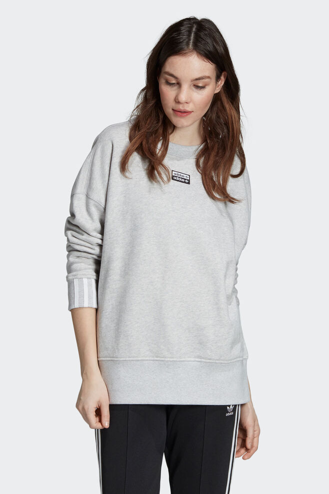 Sweatshirt ED5846, LIGHT GREY HEATHER