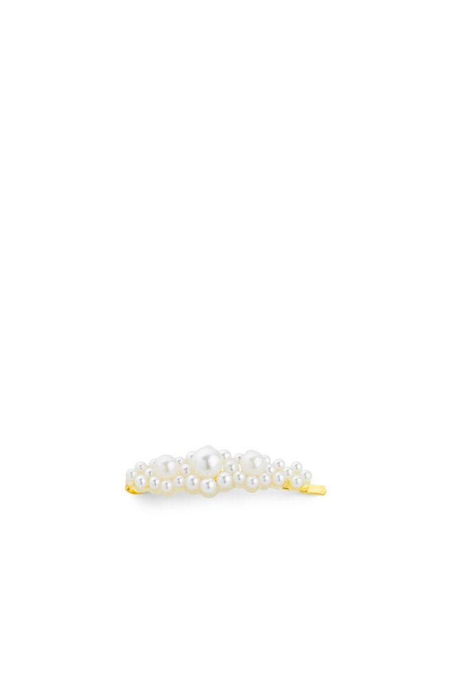Birgit clip, WHITE/GOLD
