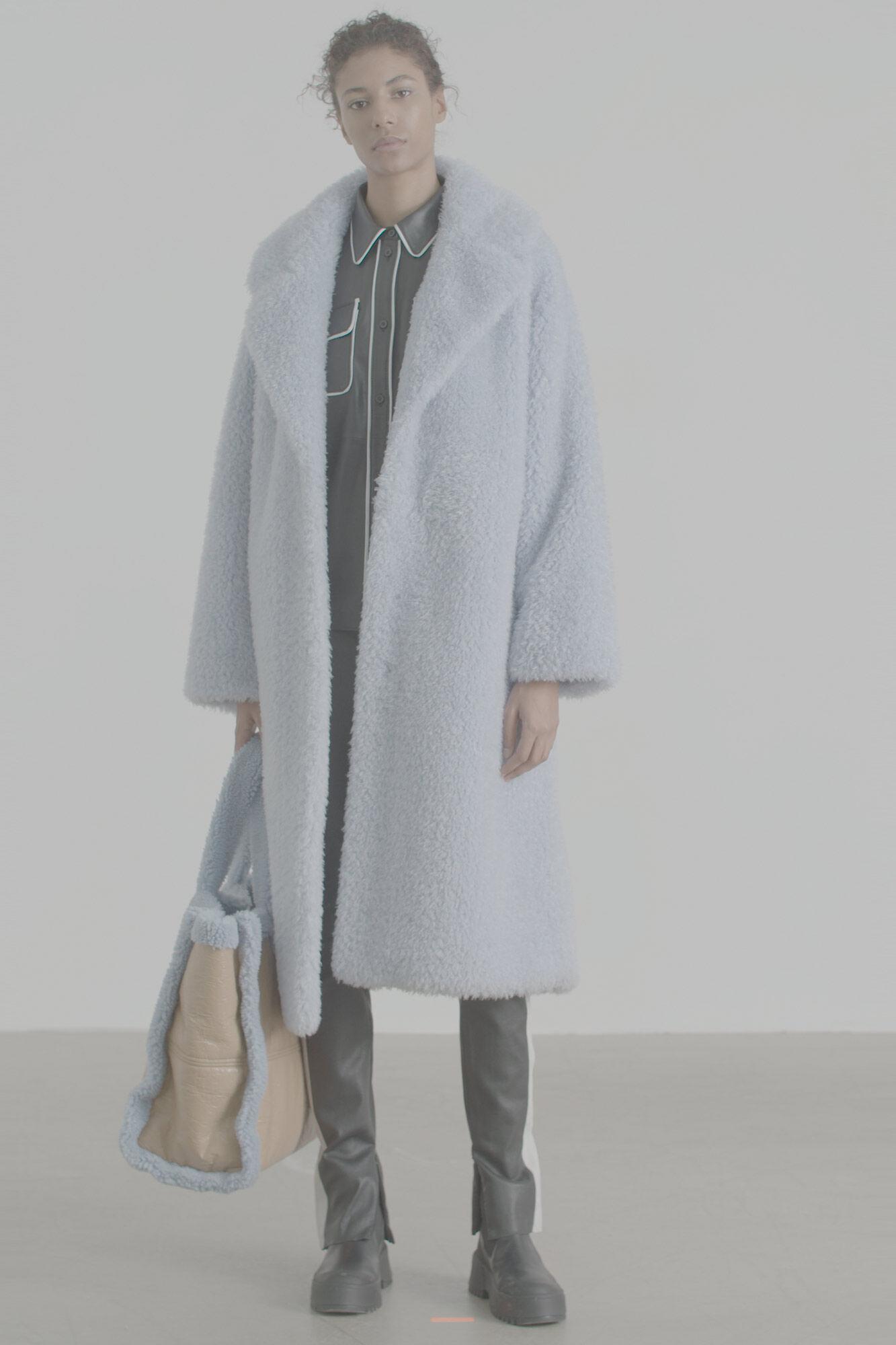 Clara coat 60658-8164, AGATE BLUE