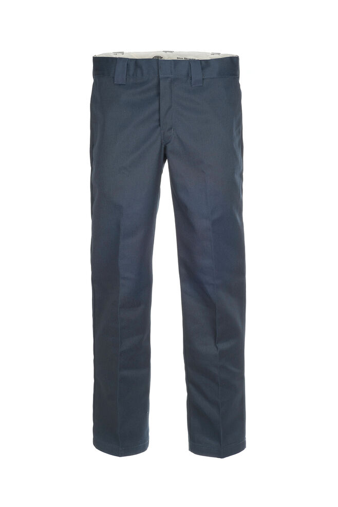 s/stght work pant WP873, NAVY BLUE