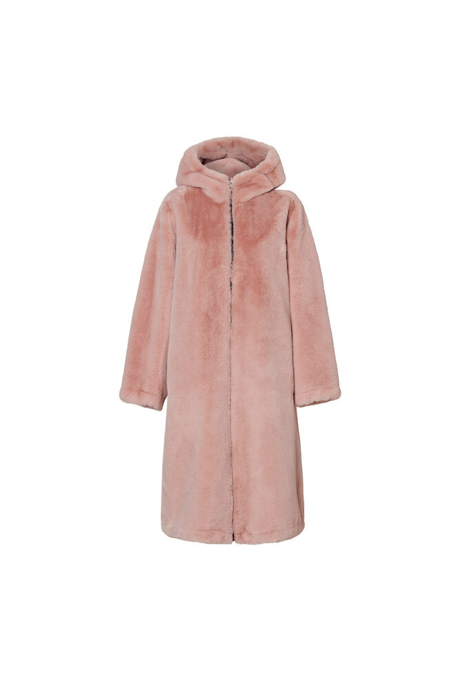 Claudia Coat 60667-5930, BLACK/ PALE PINK
