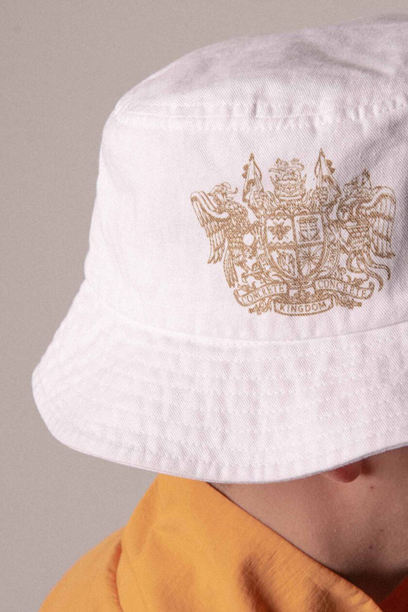 Bucket hat A-110007, OFF WHITE