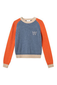 Asta sweater 11911001-4115, DUSTY BLUE COLORBLOCK