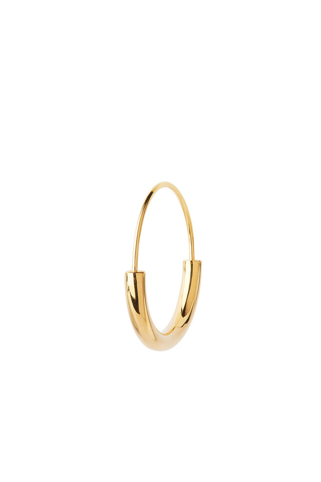 Serendipity hoop small, GOLD