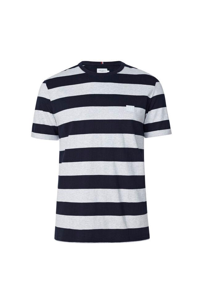 Levoir T-shirt LDM101032, SNOW MEL./NAVY