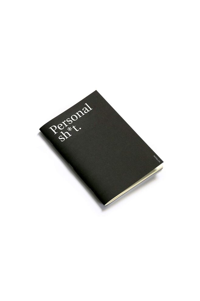 Personal sh*t notebook 5, BLACK