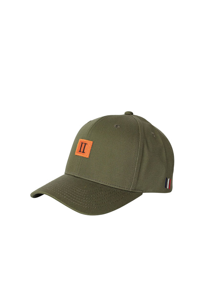 Piece baseball cap LDM702022, DARK OLIVE GREEN/BURNT ORANGE