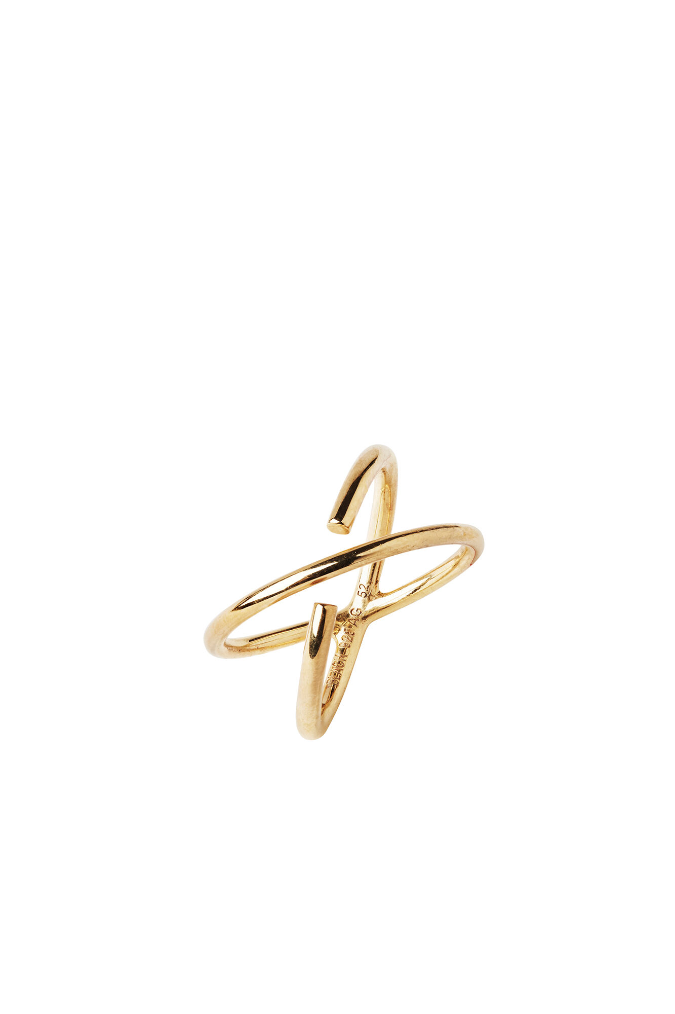 Twin ring, GOLD