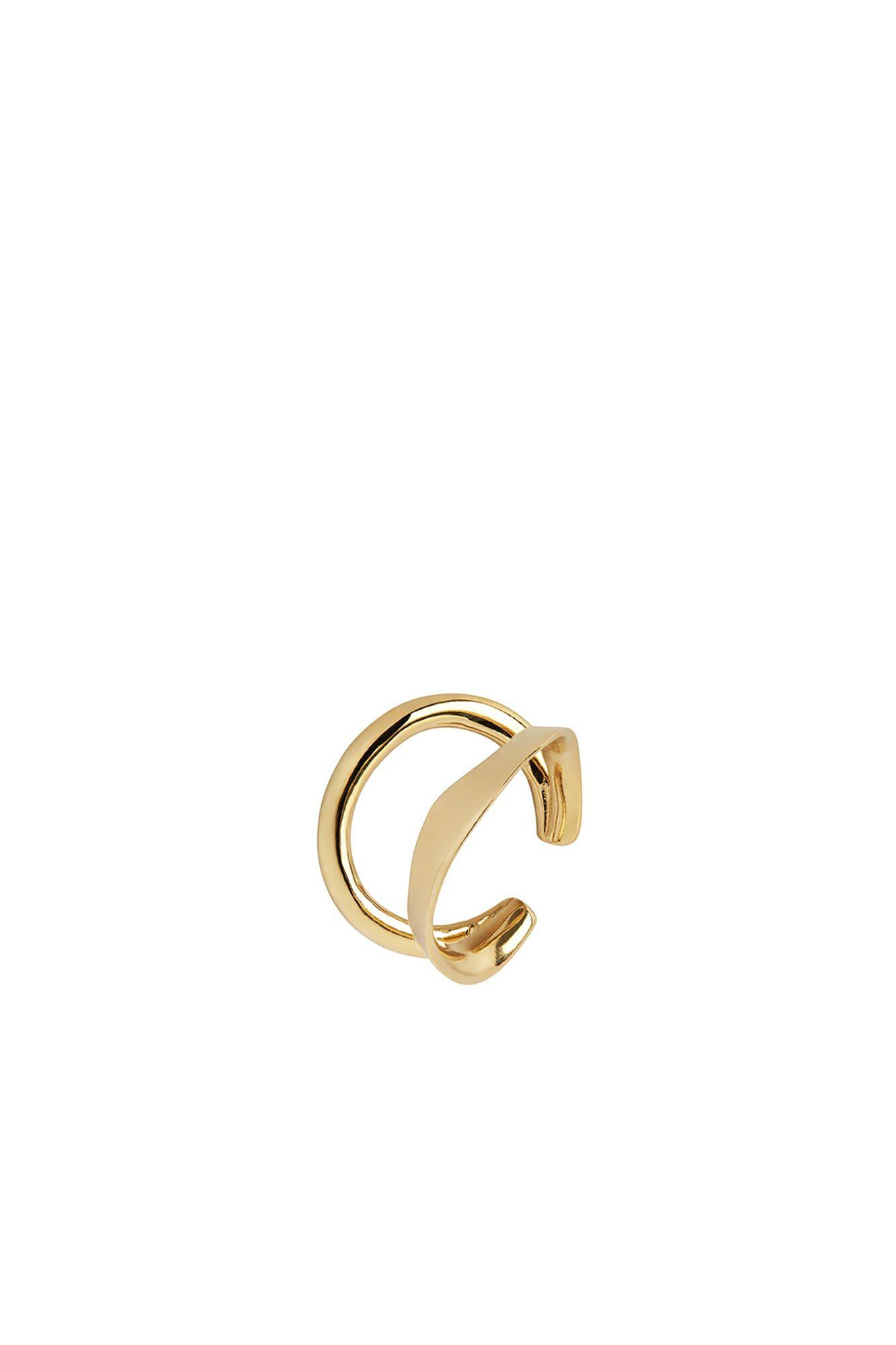 Ripples earcuff 200133YG, GOLD HP