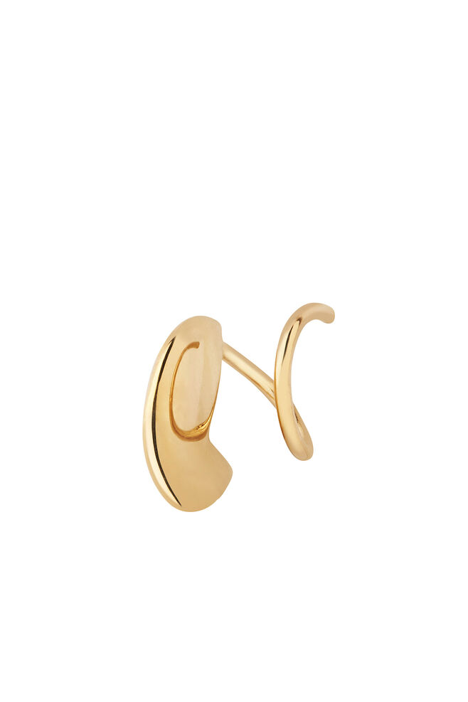 Mary Twirl Earring 100670, GOLD HP