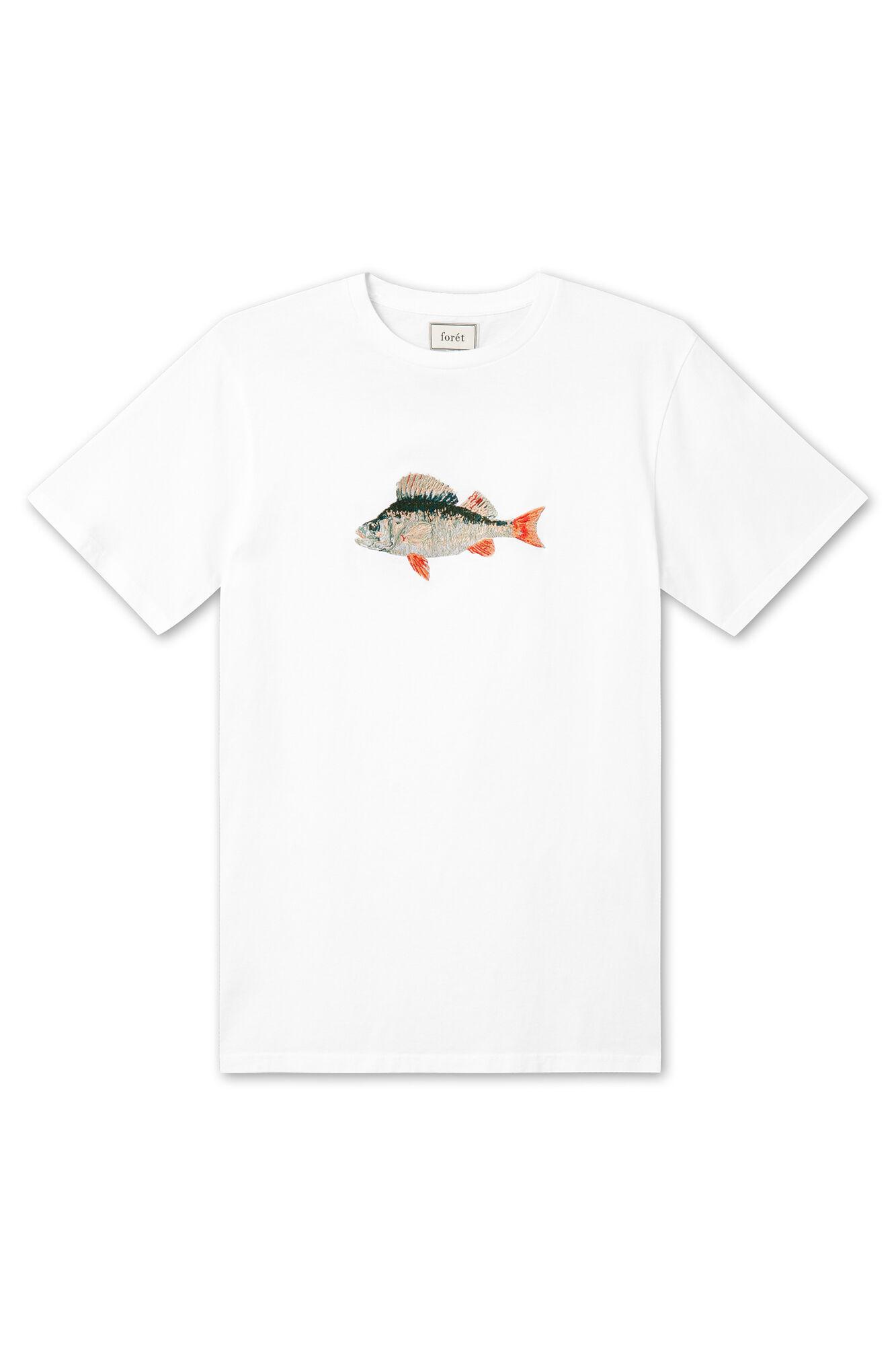 Perch T-shirt 31, WHITE
