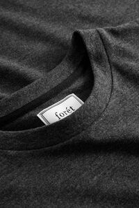 Log t-shirt 601, ASH/OLIVE