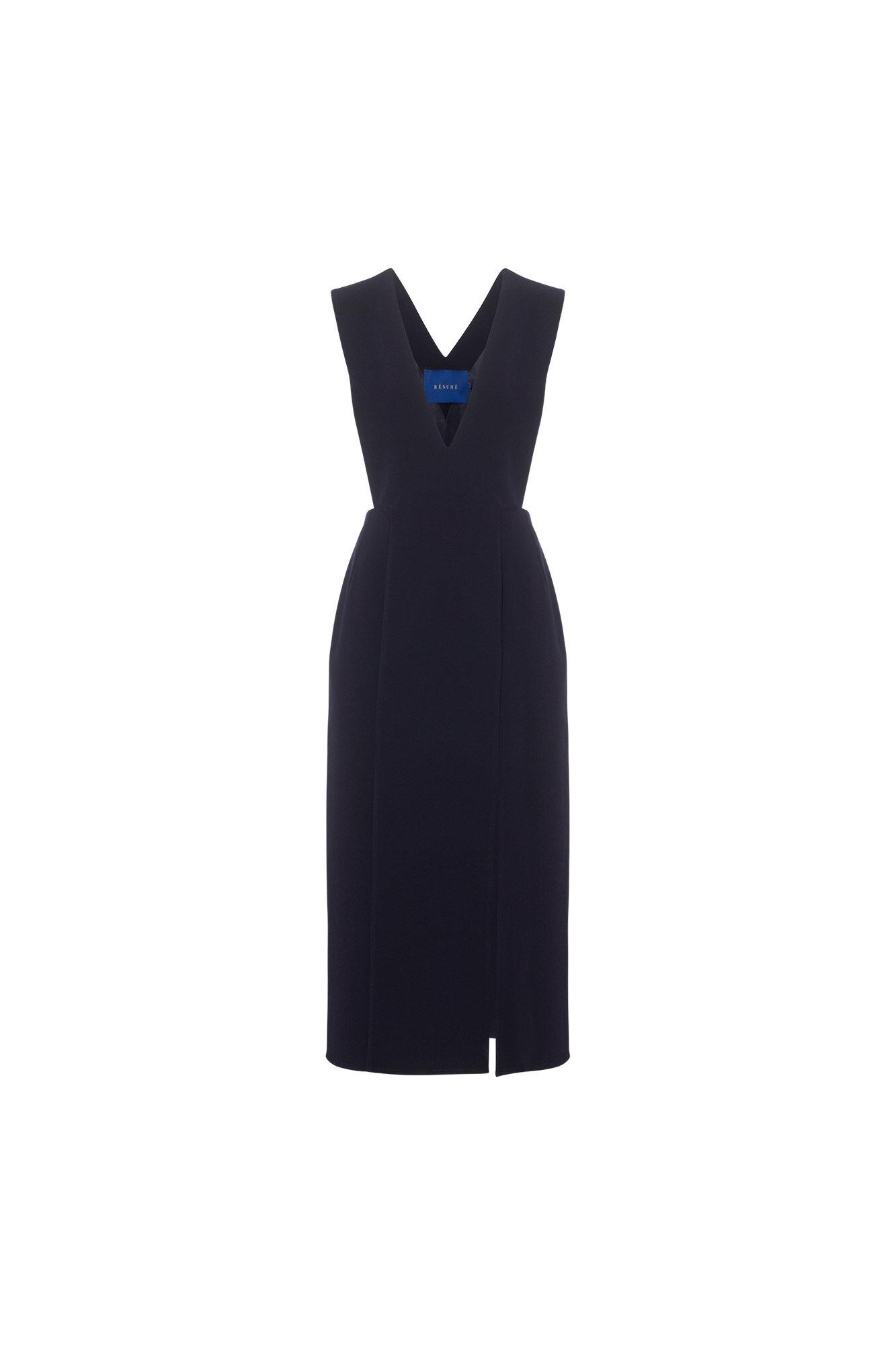 Malou dress 03770214, NAVY