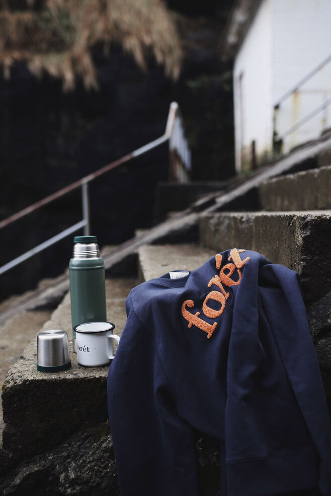Spruce Sweatshirt 419, MIDNIGHT BLUE/COPPER