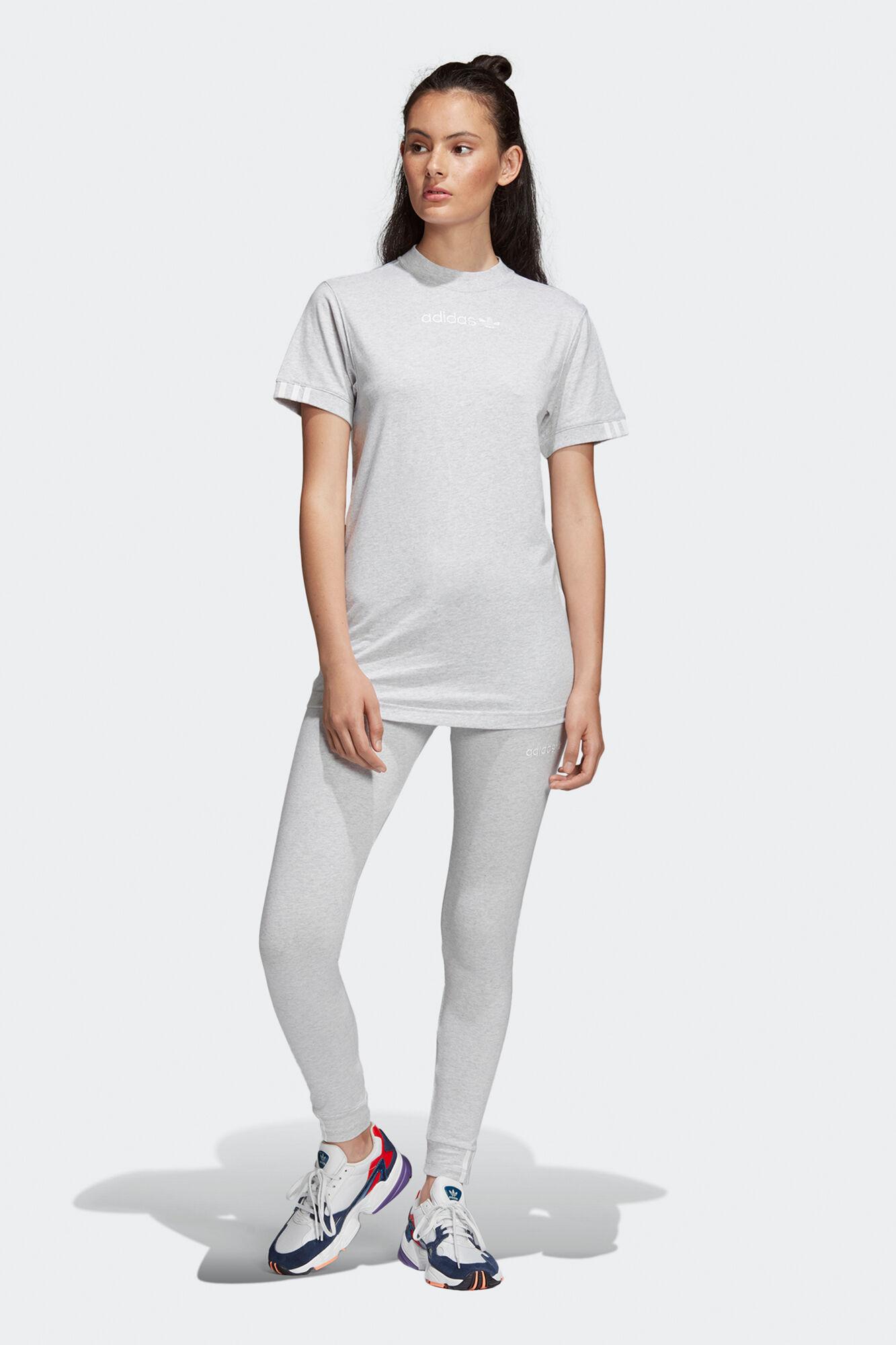 Coeeze T-shirt DU7191, LIGHT GREY HEATHER