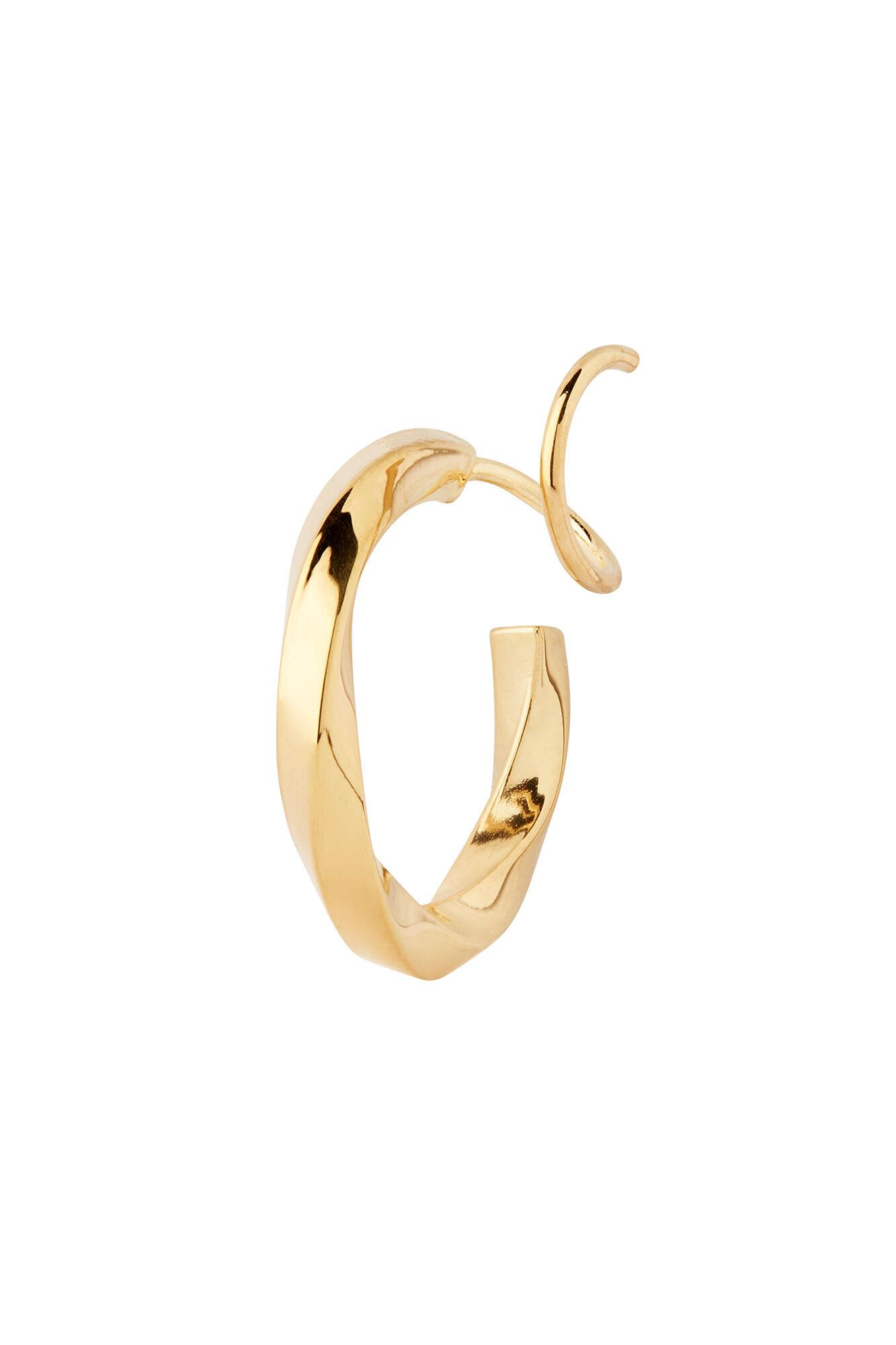 Marcelle Twirl Earring 100656, GOLD HP