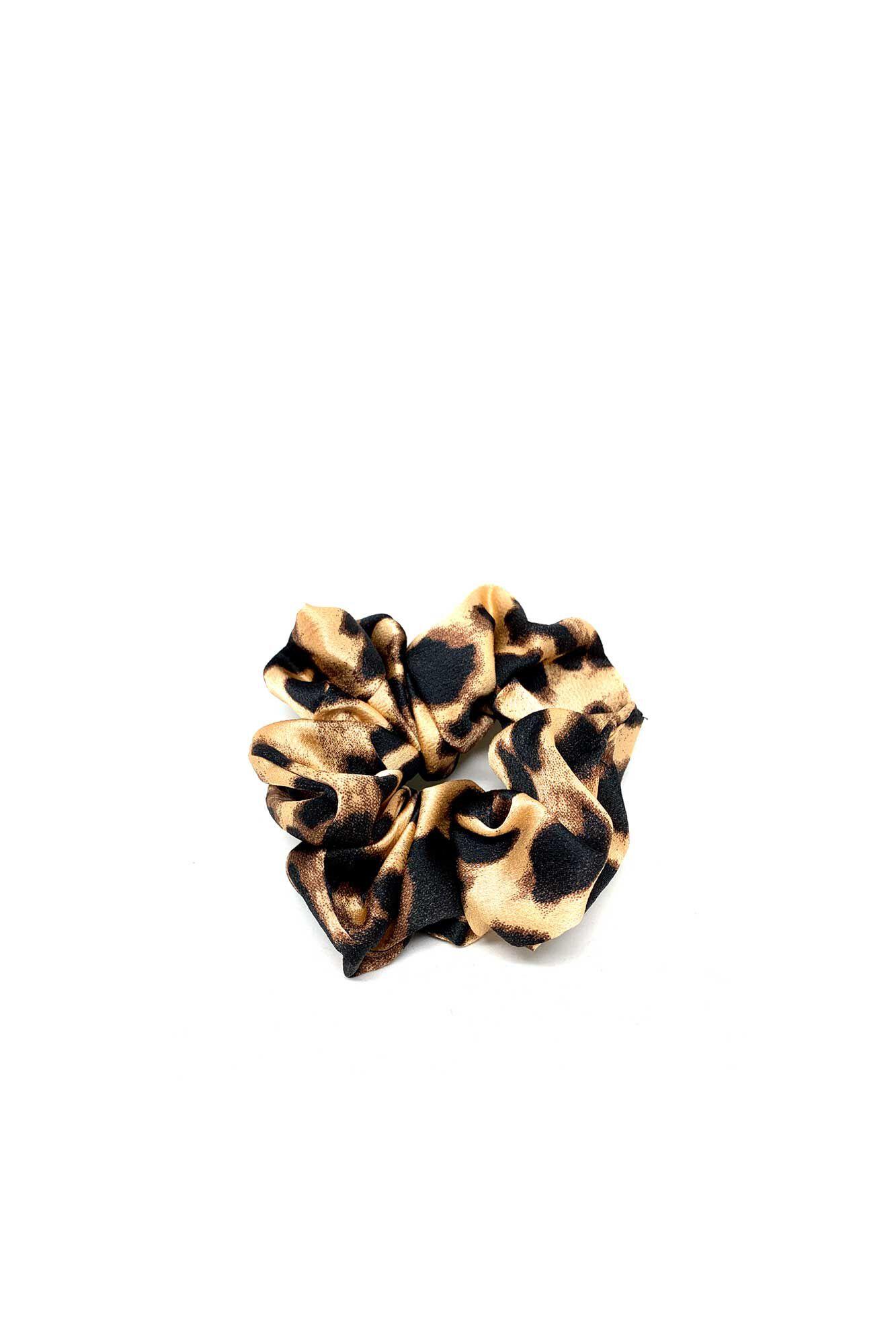 Scrunchies 8410003, LEOPARD BROWN
