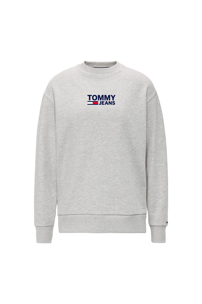 Bold Tommy Crew DW0DW06124, LT GREY HTR